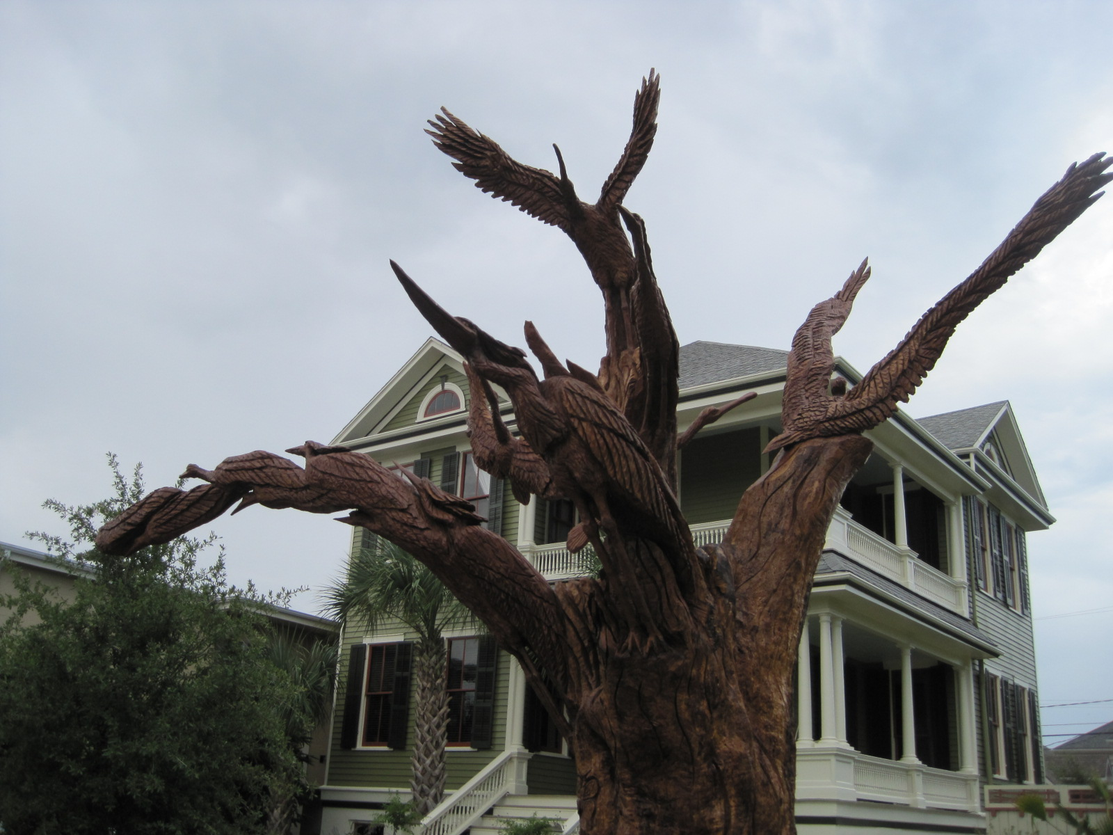 Galveston island tree sculptures tim and jenn s journey